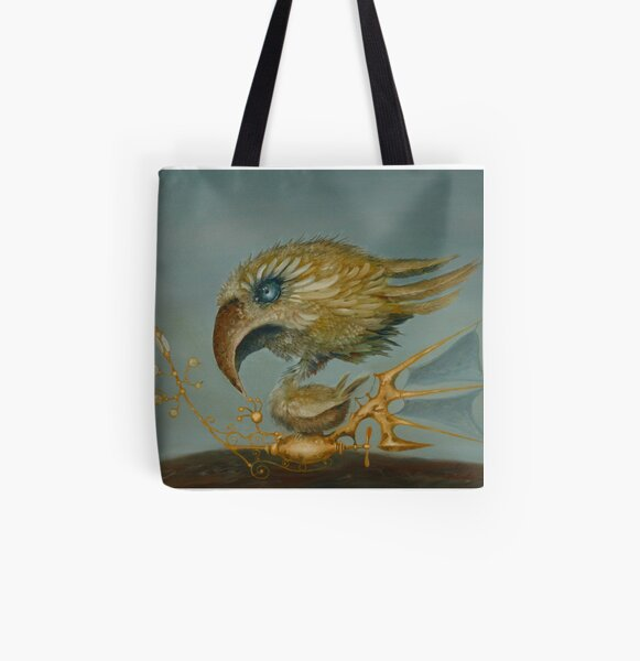 Bird's Eye View All Over Print Tote Bag