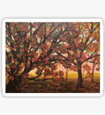 Autumn Colours Sticker