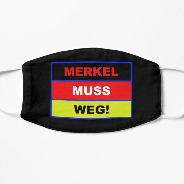 Merkel MUST go! [FLAG! ] | Protest | demo Mask