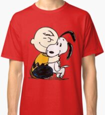 Snoopy and Charlie Soulmate Classic T-Shirt