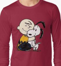 Snoopy and Charlie Soulmate Long Sleeve T-Shirt