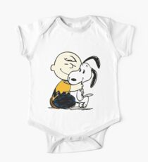 Snoopy and Charlie Soulmate One Piece - Short Sleeve