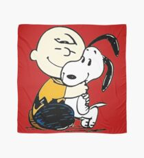 Snoopy and Charlie Soulmate Scarf