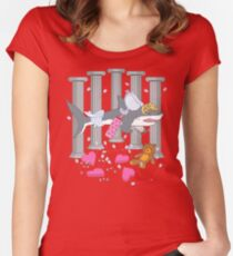 The Cupid Shark Women's Fitted Scoop T-Shirt