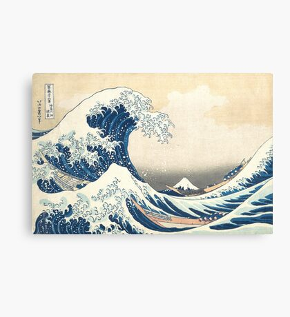 Hokusai Wave Canvas Print