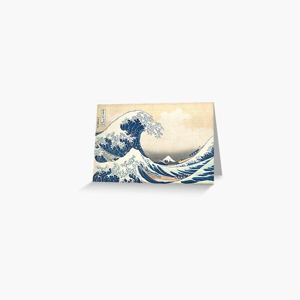 Hokusai Wave Greeting Card