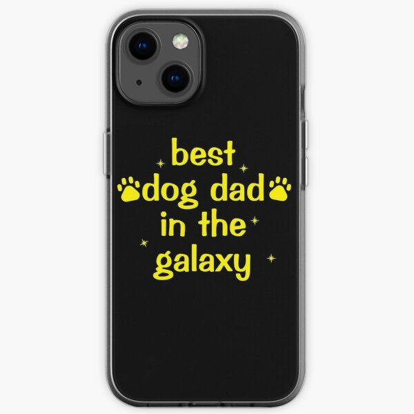 best dog dad in the galaxy iPhone Soft Case