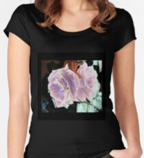 Velveted Roses Women's Fitted Scoop T-Shirt