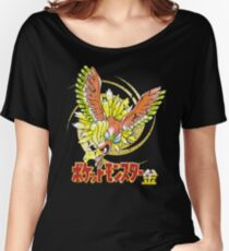 Pocket Monsters: Gold Distressed Women's Relaxed Fit T-Shirt