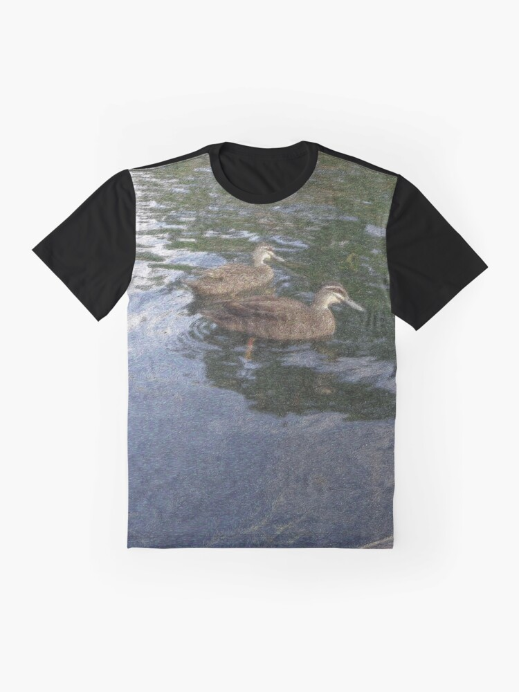 Alternate view of Duck Gogh Graphic T-Shirt