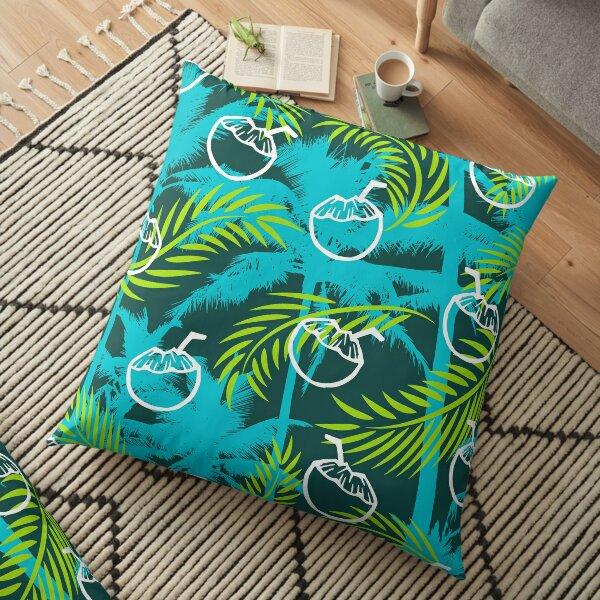 Lime & Coconut  Floor Pillow