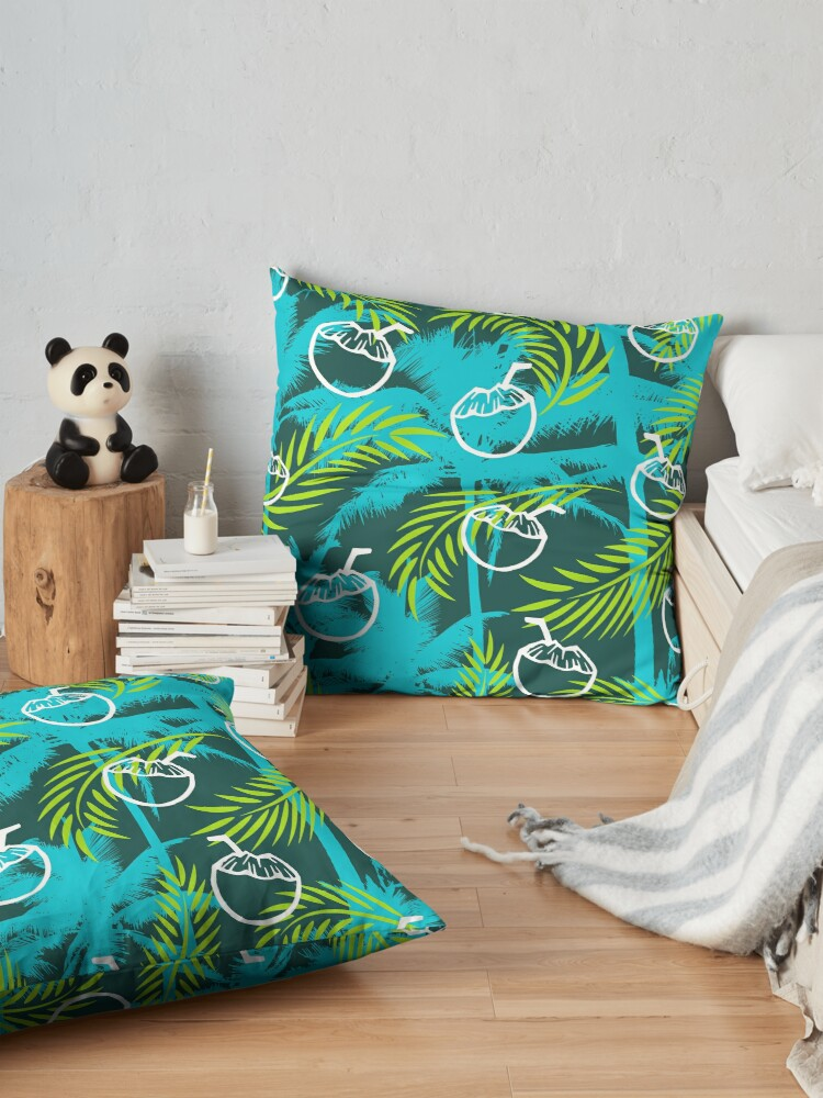 Alternate view of Lime & Coconut  Floor Pillow