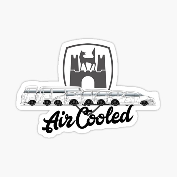 Aircooled Family Sticker