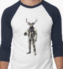 Psychedelic Deer Astronaut (Vintage Effect) T-Shirt