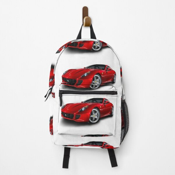 Ferrari in red Backpack