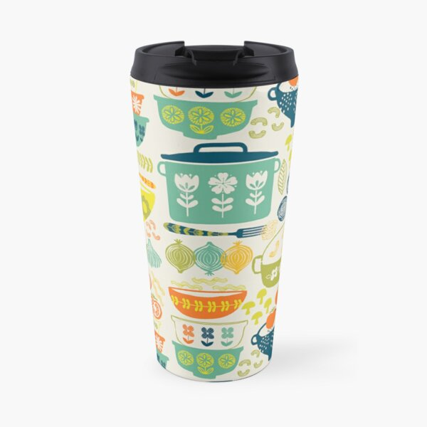 Vintage Kitchen Travel Mug