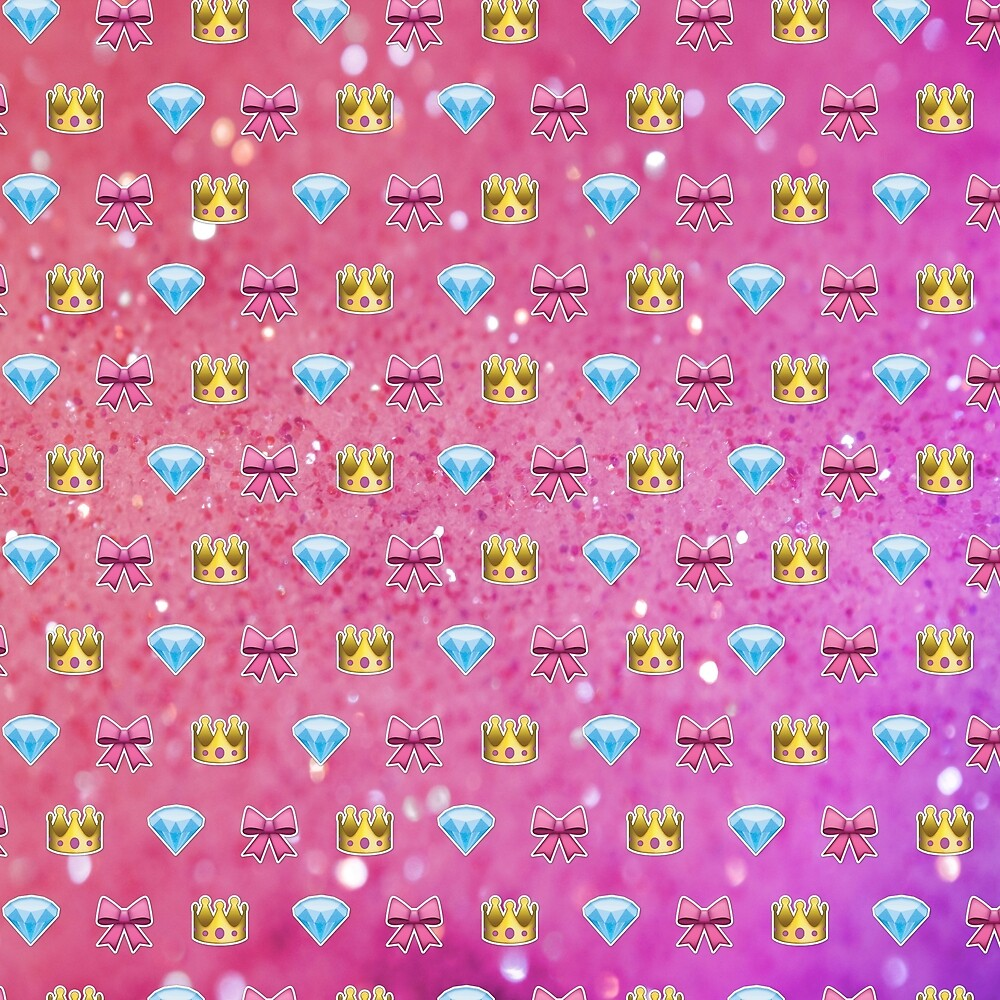 u0026quot princess emoji pattern  u0026quot  by lucy lier