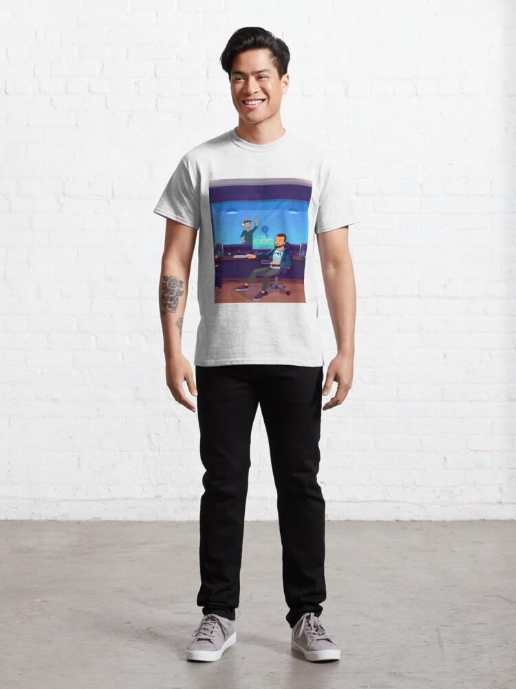 T-shirt classique ''Bigflo & Oli en studio': autre vue