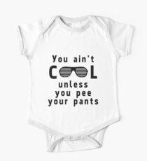 Ain't cool unless pee pants Kids Clothes