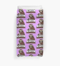 "Feminist Sloth ""Pro-Choice"" Duvet Cover"