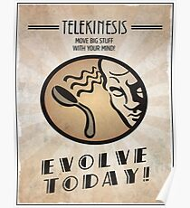 Bioshock Telekinesis Plasmid Poster