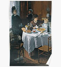 Claude Monet - The Luncheon ,Impressionism Poster