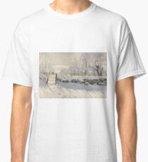 Claude Monet - The Magpie  Impressionism Classic T-Shirt