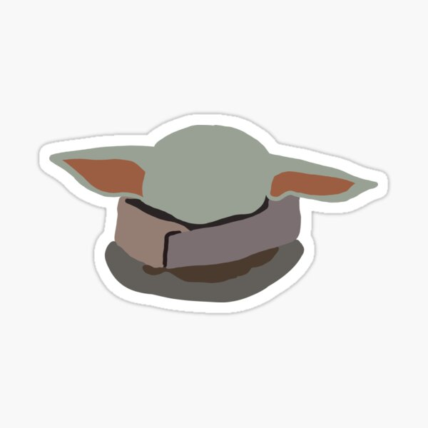 Grogu Sticker