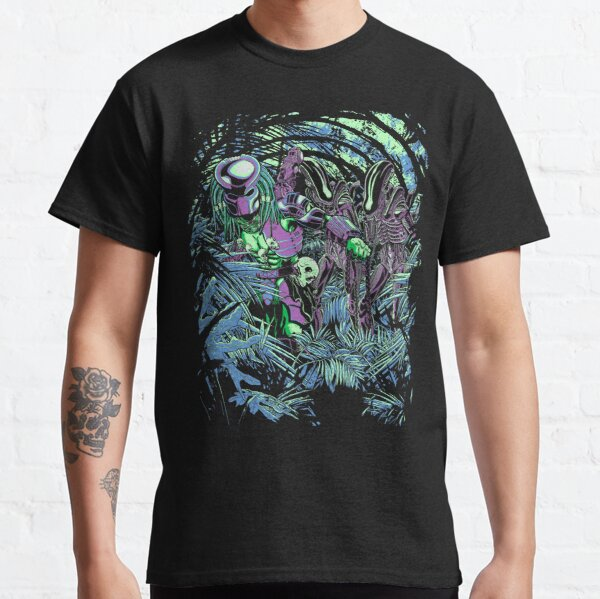 Welcome to the jungle. (neon) Classic T-Shirt
