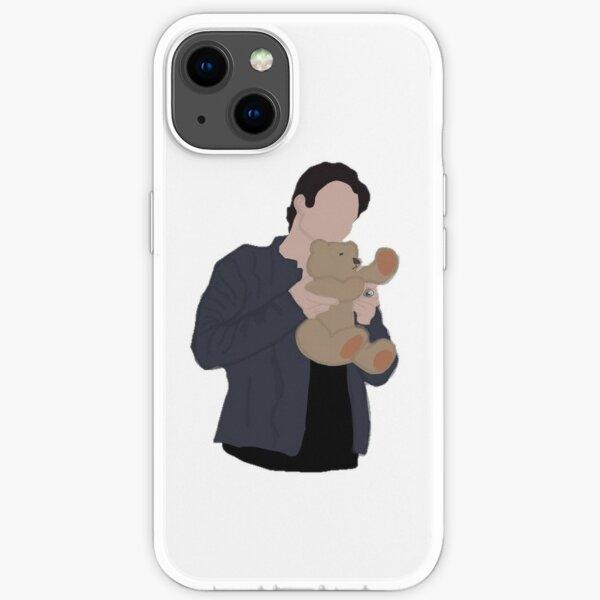 Damon Salvatore mit Teddybär iPhone Flexible Hülle