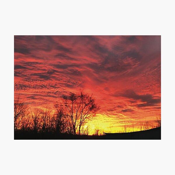 Sunrise 6014 Photographic Print