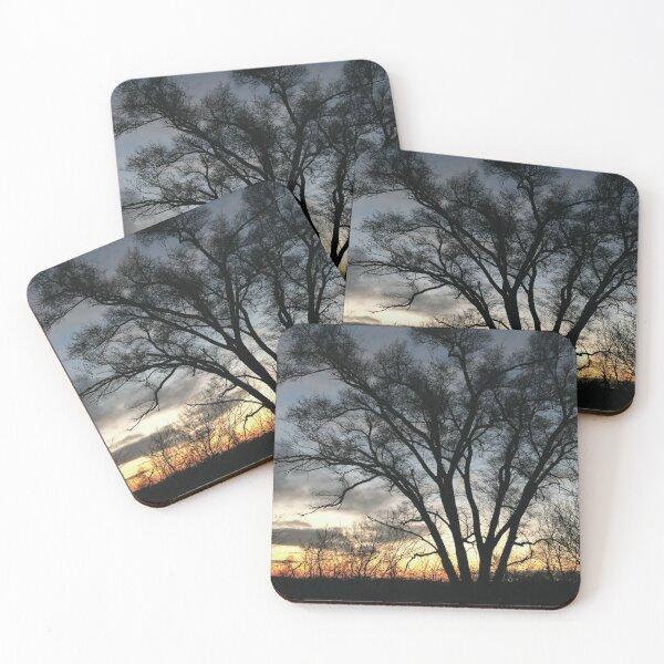 Sunset 6031 Coasters (Set of 4)