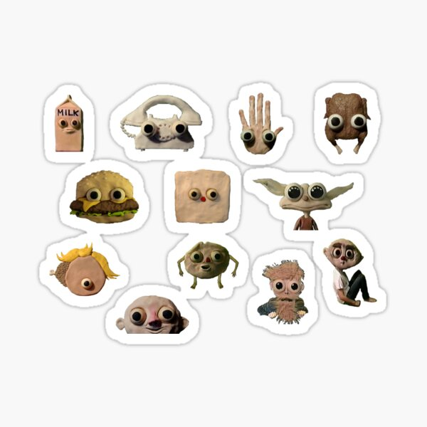 Crazy Characters Sticker