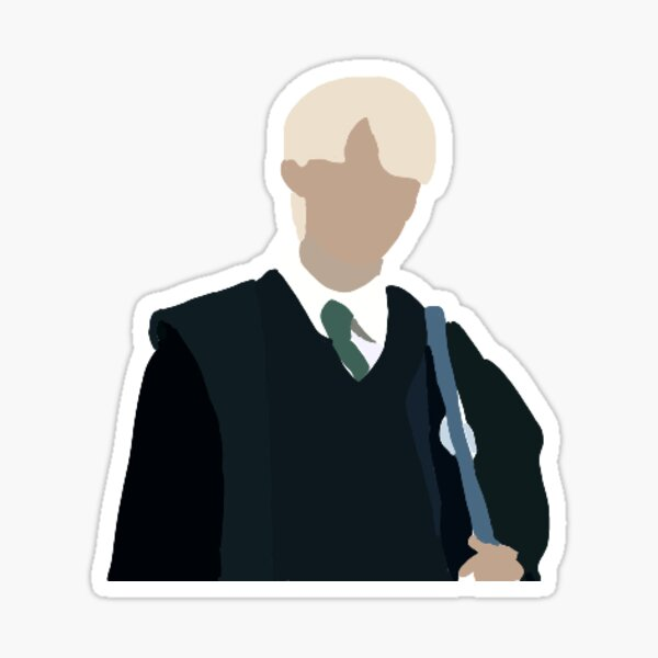 Draco Malfoy Sticker Sticker