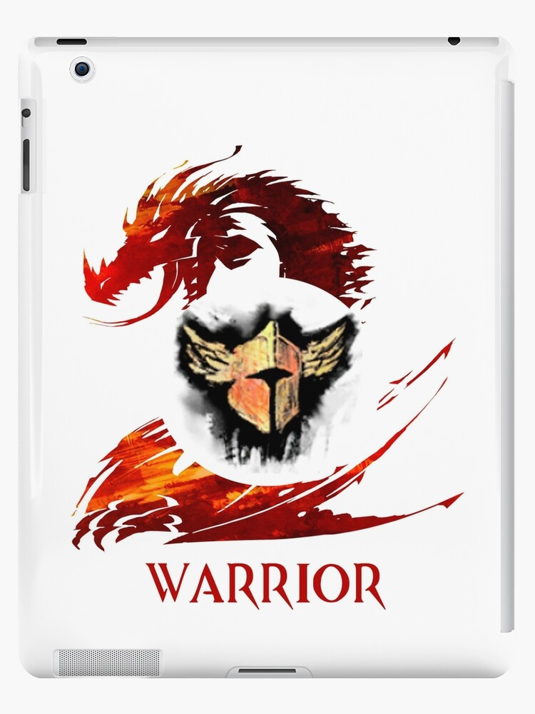 'Guild Wars 2 Warrior ' iPad Case/Skin by GuyDude1337