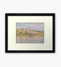Claude Monet - Vétheuil (1879) Framed Print