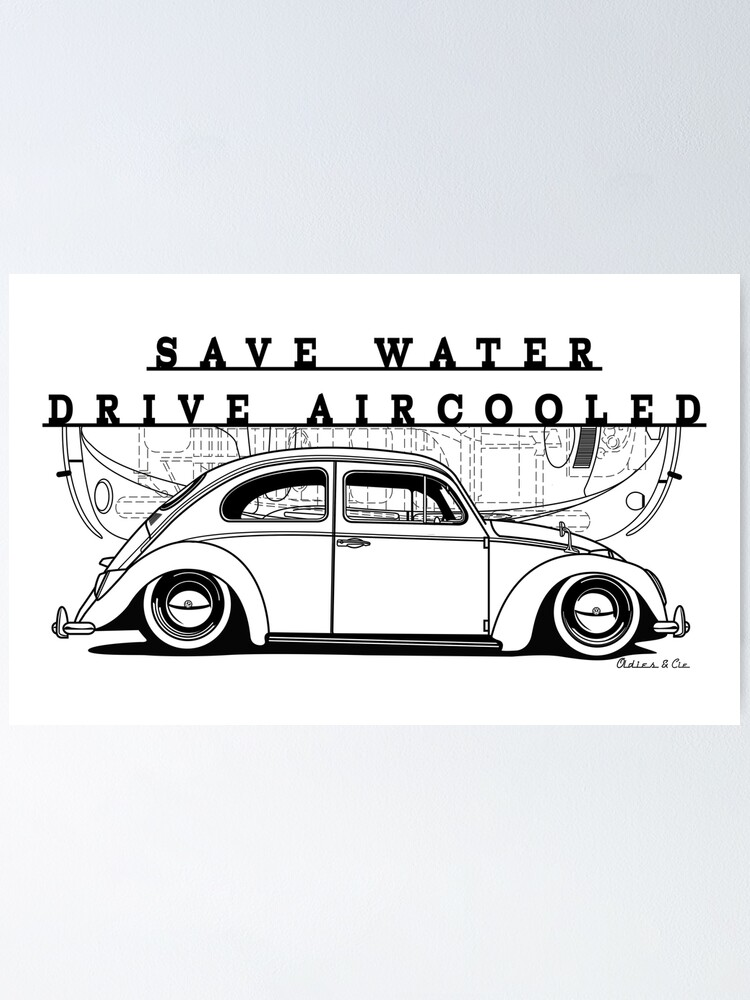Alternate view of drive aircooled Poster
