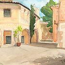 Mallorca - Pueblo Espanol - Casa Barroca d Lugo von Jens-Uwe Friedrich