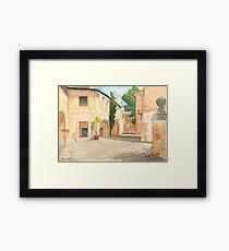 Mallorca - Pueblo Espanol - Casa Barroca d Lugo Framed Print
