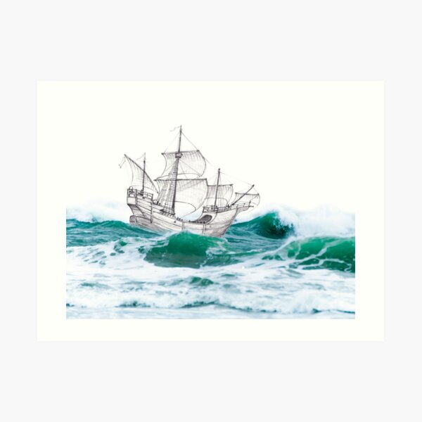 Age of Discovery Art Print