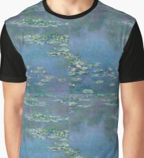 Claude Monet - Water Lilies (1906)  Impressionism Graphic T-Shirt