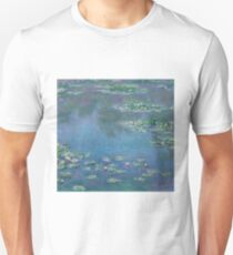 Claude Monet - Water Lilies (1906)  Impressionism T-Shirt