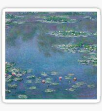 Claude Monet - Water Lilies (1906)  Impressionism Sticker