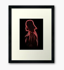 A bright lord Framed Print