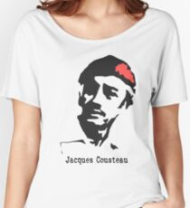 Jacques Cousteau  Women's Relaxed Fit T-Shirt