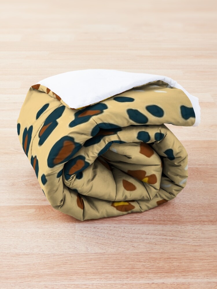 Alternate view of Bohemian Leopard Comforter