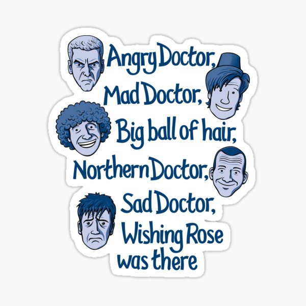 Angry Doctor Sticker