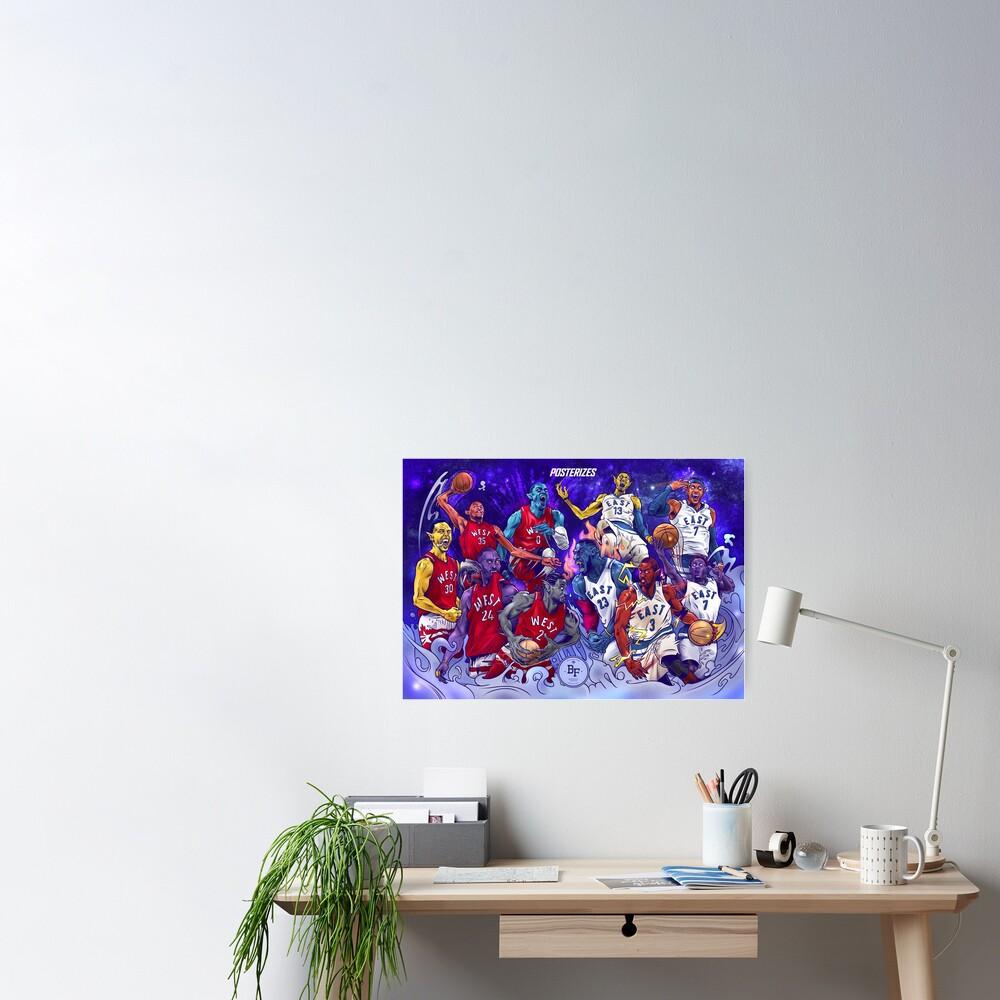NBA All-Star MonStars 2.0!  Poster