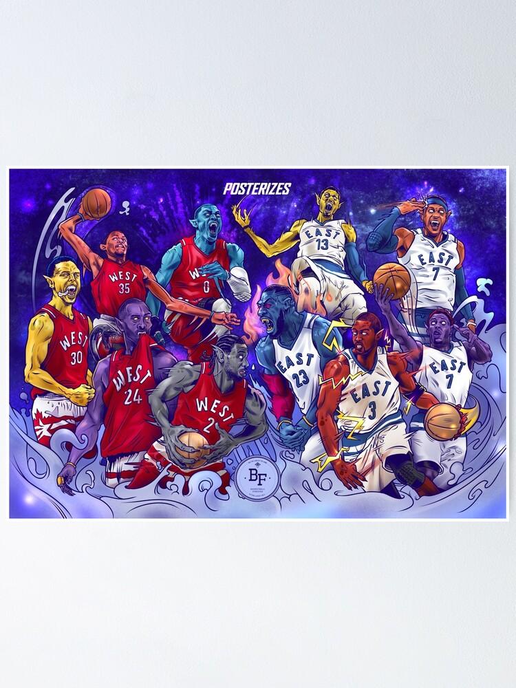 Alternate view of NBA All-Star MonStars 2.0!  Poster