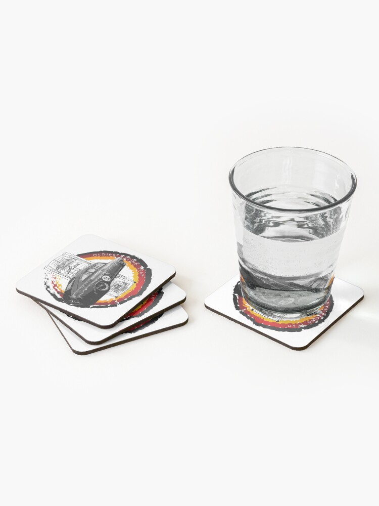 Alternate view of Fast aircooled Coasters (Set of 4)